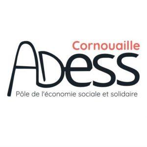 Logo de l'ADESS Cornouaille, Pôle de développement de l'économie sociale et solidaire en Cornouaille