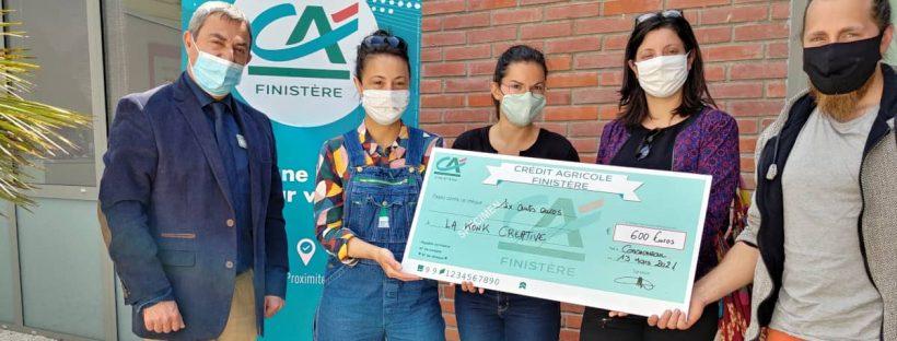 La Konk Créative lauréate des Trophées de la vie locale du Crédit Agricole