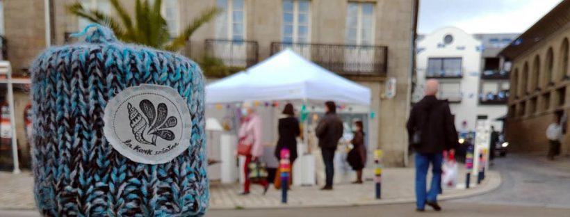 Les créateurs et créatrices pros de La Konk Créative sur le marché de Concarneau