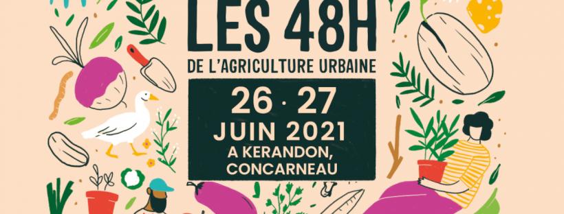 Les 48h de l'agriculture urbaine 2021 à Concarnreau